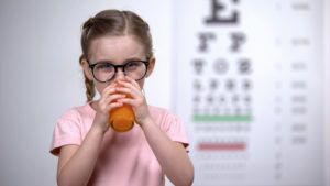 batidos para mejorar la vista