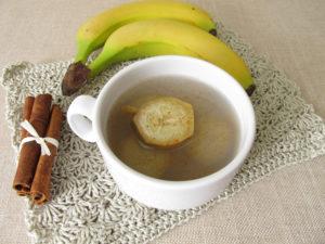 beneficios del té de plátano