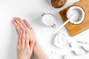 aceite de coco para blanquear la piel