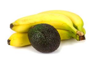mascarilla capilar de banana y aguacate