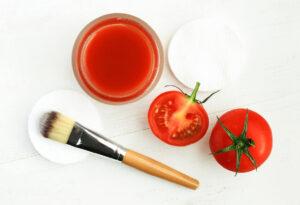 mascarilla de tomates