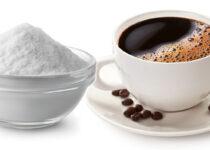 bocarbonato de sodio con café
