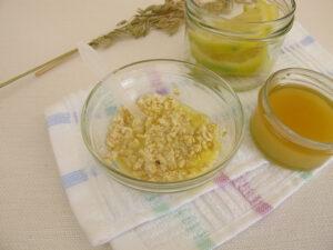 avena miel y jugo de limon