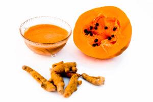 curcuma y papaya