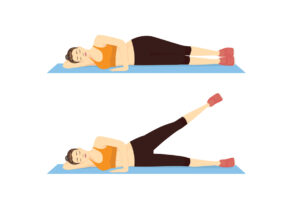 levantar piernas lateral